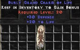 30 Defense w/ 20 Life GC