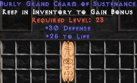 30 Defense w/ 25 Life GC