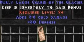 30 Defense w/ 3-8 Cold Damage LC