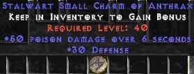 30 Defense w/ 50 Poison Damage SC - Perfect