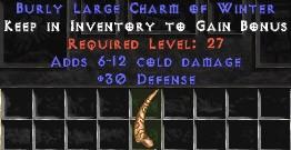 30 Defense w/ 6-12 Cold Damage LC