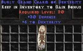 30 Defense w/ 6 Dex GC
