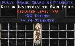 30 Defense w/ 6 Str GC