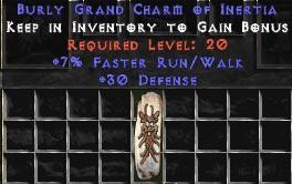 30 Defense w/ 7% FRW GC