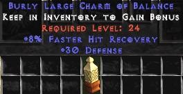 30 Defense w/ 8% FHR LC