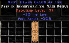 30 Resist Fire w/ 20 Life GC