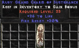 30 Resist Fire w/ 25 Life GC