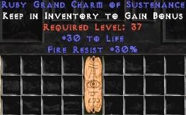 30 Resist Fire w/ 30 Life GC