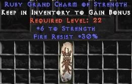 30 Resist Fire w/ 6 Str GC