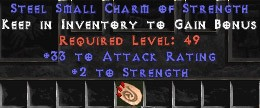 33-35 Attack Rating w/ 2 Str SC