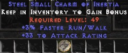 33-35 Attack Rating w/ 3% FRW SC