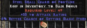 33-35 Attack Rating w/ 5-6% MF SC