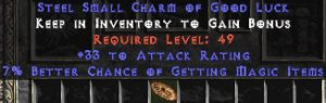 33-35 Attack Rating w/ 7% MF SC