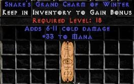 33 Mana w/ 6-11 Cold Damage GC