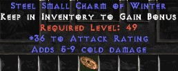 36 Attack Rating w/ 5-9 Cold Damage SC - Perfect