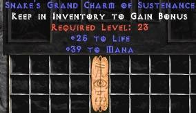 39 Mana w/ 25 Life GC