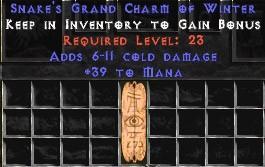39 Mana w/ 6-11 Cold Damage GC