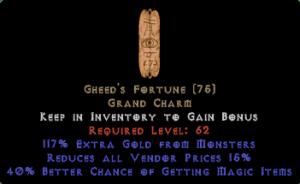 Gheed's Fortune 40% MF/15% RVP