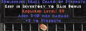 3-10 Fire Damage w/ 2 Str SC