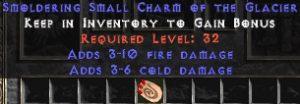 3-10 Fire Damage w/ 3-6 Cold Damage SC