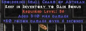 3-10 Fire Damage w/ 50 Poison Damage SC