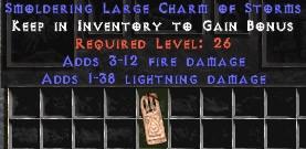 3-12 Fire Damage w/ 1-38 Lightning Damage LC