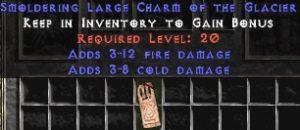 3-12 Fire Damage w/ 3-8 Cold Damage LC