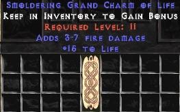 3-7 Fire Damage w/ 15 Life GC