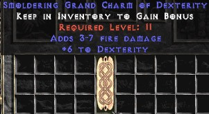3-7 Fire Damage w/ 6 Dex GC