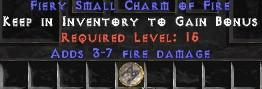 3-7 Fire Damage SC