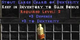 3 Defense w/ 3 Dex LC