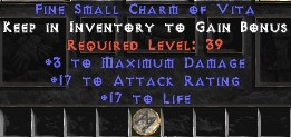 3 Max Damage w/ 17-19 AR & 16-19 Life SC