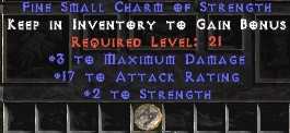 3 Max Damage w/ 17-19 AR & 2 Str SC