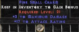 3 Max Damage w/ 17-19 AR SC