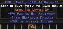 3 Max Damage w/ 20 AR & 5% FHR SC - Perfect