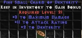 3 Max Damage w/ 10-16 AR & 2 Dex SC