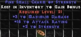3 Max Damage w/ 10-16 AR & 2 Str SC