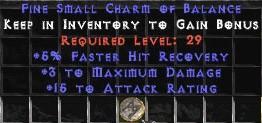 3 Max Damage w/ 10-16 AR & 5% FHR SC
