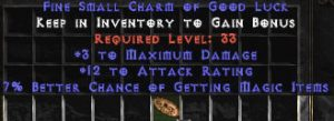 3 Max Damage w/ 10-16 AR & 7% MF SC