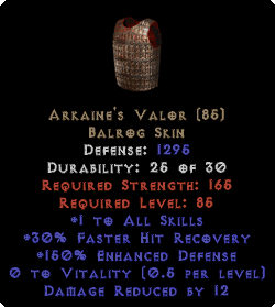 Arkaine's Valor