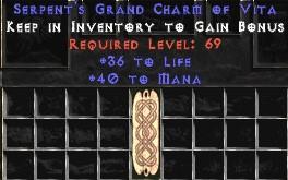 40-46 Mana w/ 36-40 Life GC