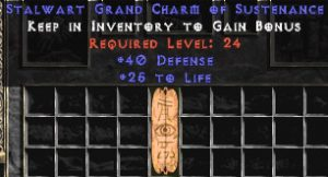 40 Defense w/ 25 Life GC