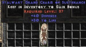 40 Defense w/ 30 Life GC