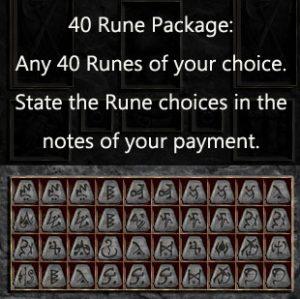 Multiple Rune Package 40 x Any Runes