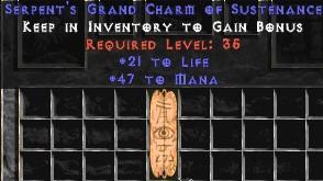 47-52 Mana w/ 21-25 Life GC