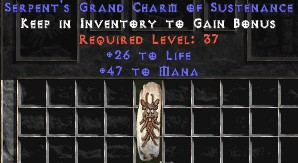 47-52 Mana w/ 26-30 Life GC