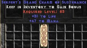 47-52 Mana w/ 31-35 Life GC