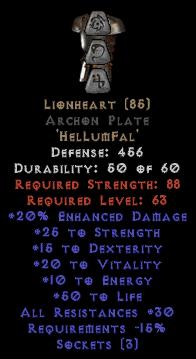 Lionheart Archon Plate