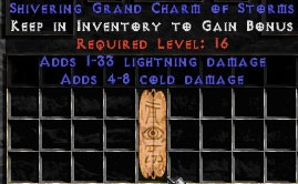 4-8 Cold Damage w/ 1-33 Lightning Damage GC