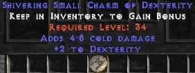 4-8 Cold Damage w/ 2 Dex SC